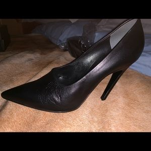 Balenciaga black classic pumps with new protection